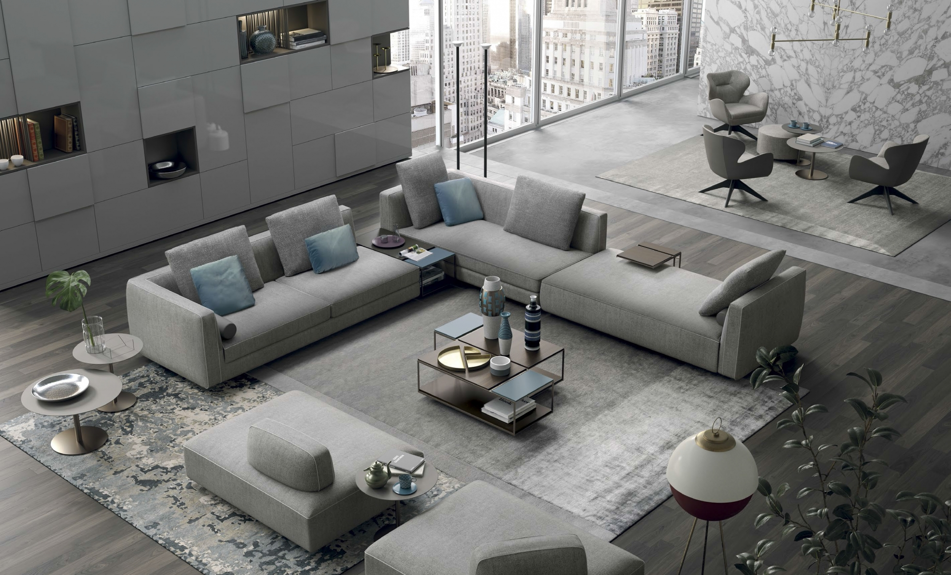 Ordinaire Glam Modular Sectional   Highly Sophisticated Solution For Modern Interiors